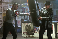 Creed II (2018) <br /> (Creed 2)<br /> Michael B. Jordan stars as Adonis Creed and Sylvester Stallone as Rocky Balboa<br /> *Filmstill - Editorial Use Only*<br /> CAP/MFS<br /> Image supplied by Capital Pictures