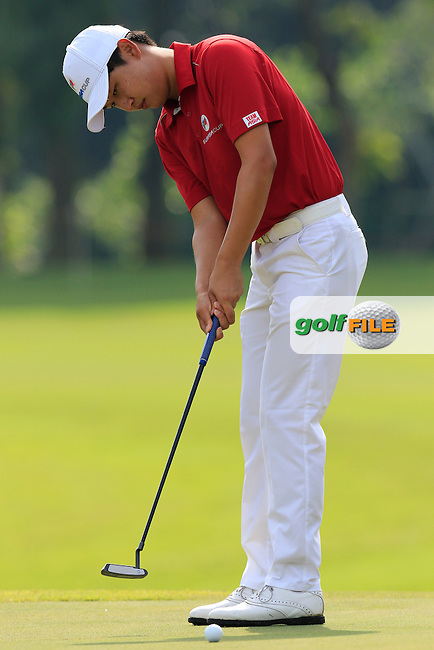 Jeunghun Wang (KOR) Asian Team during Pro-Am Day of the 2016 Eurasia Cup held at the Glenmarie Golf &amp; Country Club, Kuala Lumpur, Malaysia. 14th January 2016.<br /> Picture: Eoin Clarke | Golffile<br /> <br /> <br /> <br /> All photos usage must carry mandatory copyright credit (&copy; Golffile | Eoin Clarke)