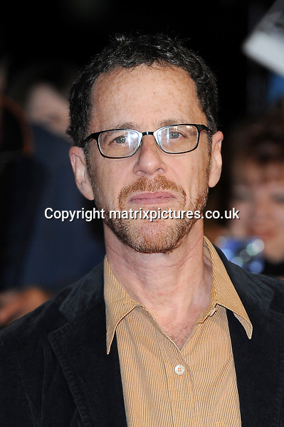 NON EXCLUSIVE PICTURE: PAUL TREADWAY / MATRIXPICTURES.CO.UK<br /> PLEASE CREDIT ALL USES<br /> <br /> WORLD RIGHTS<br /> <br /> American film director Ethan Cohen attends the screening of Inside Llewyn Davis Centrepiece Gala Supported By The Mayor Of London, during the 57th BFI London Film Festival at the Odeon Leicester Square cinema, in London.<br /> <br /> OCTOBER 15th 2013<br /> <br /> REF: PTY 136765