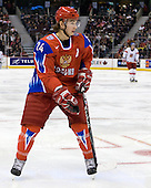 Vyacheslav Voinov (Russia - 24) - Russia defeated the Czech Republic 5-1 on Friday, January 2, 2009, at Scotiabank Place in Kanata (Ottawa), Ontario, during the 2009 World Junior Championship.