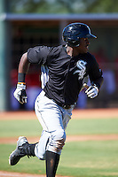 Chicago White Sox Micker Adolfo (45) during an Instructional League game against the Cincinnati Reds on October 11, 2016 at the Cincinnati Reds Player Development Complex in Goodyear, Arizona.  (Mike Janes/Four Seam Images)