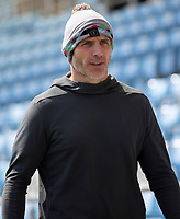 Harlequins' Head Coach Paul Gustard<br /> <br /> Photographer Bob Bradford/CameraSport<br /> <br /> Gallagher Premiership - Exeter Chiefs v Harlequins - Saturday 27th April 2019 - Sandy Park - Exeter<br /> <br /> World Copyright © 2019 CameraSport. All rights reserved. 43 Linden Ave. Countesthorpe. Leicester. England. LE8 5PG - Tel: +44 (0) 116 277 4147 - admin@camerasport.com - www.camerasport.com