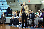 05 December 2012: UNC head coach Sylvia Hatchell. The University of North Carolina Tar Heels played the Radford University Highlanders at Carmichael Arena in Chapel Hill, North Carolina in an NCAA Division I Women's Basketball game. UNC won the game 64-44.
