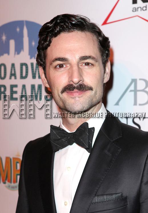 Max von Essen attending the Broadway Dreams Foundation's 'Champagne & Caroling Gala' at Celsius at Bryant Park, New York on December 10, 2012