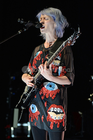 MIAMI BEACH, FL - OCTOBER 6: St. Vincent performs at Fillmore Miami Beach on October 6, 2014 in Miami Beach, Florida. Credit: mpi04/MediaPunch