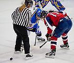 Cegep Saint Laurent Patriotes College Womens Hockey versus John Abbott College Lady Islanders