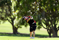 Hitomi Tamura of Waikato. Day one of the Toro Interprovincial Women's Championship, Sherwood Golf Club, Wjangarei,  New Zealand. Monday 4 December 2017. Photo: Simon Watts/www.bwmedia.co.nz