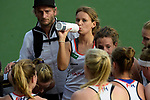 NED - Amsterdam, Netherlands, August 20: During the women Pool B group match between Germany (white) and England (red) at the Rabo EuroHockey Championships 2017 August 20, 2017 at Wagener Stadium in Amsterdam, Netherlands. Final score 1-0. (Photo by Dirk Markgraf / www.265-images.com) *** Local caption *** Anne Schroeder #8 of Germany