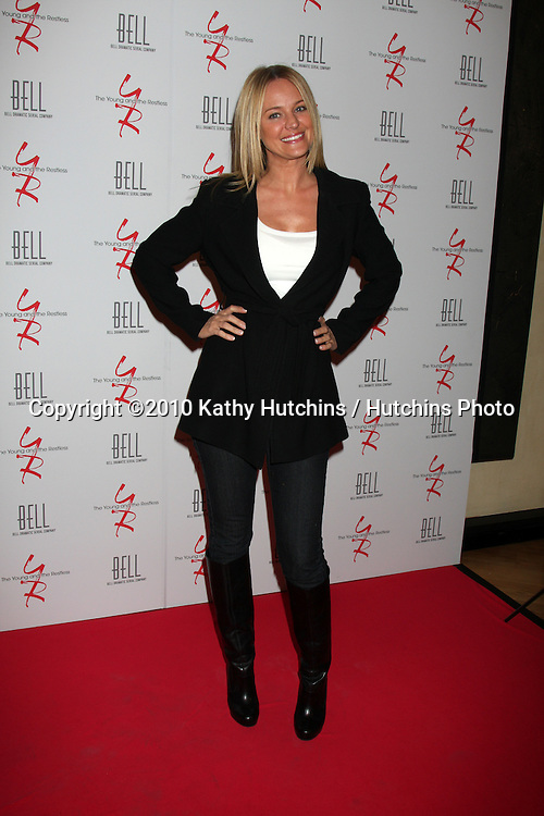 Sharon Case.arrivng at The Young & The Restless 37th Anniversary Dinner.Via Allorro.Beverly Hills, CA.March 9, 2010.©2010 Kathy Hutchins / Hutchins Photo....