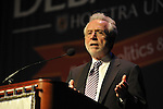 "Wolf Blitzer, anchor of CNN's The Situation Room, speaking at Hofstra University on Thursday, March 29, 2012, in Hempstead, New York, USA. During Blitzer's talk, he shared news clips, including from CNN presidential primary debates he moderated. Hofstra's ""The World Today"" event is part of ""Debate 2012 - Pride, Politics and Policy"" which leads up to the Presidential Debate Hofstra is hosting on October 15, 2012."