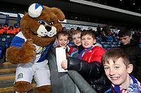 Blackburn Rovers Fans at the start of todays match<br /> <br /> Photographer Rachel Holborn/CameraSport<br /> <br /> The EFL Sky Bet League One - Blackburn Rovers v Shrewsbury Town - Saturday 13th January 2018 - Ewood Park - Blackburn<br /> <br /> World Copyright &copy; 2018 CameraSport. All rights reserved. 43 Linden Ave. Countesthorpe. Leicester. England. LE8 5PG - Tel: +44 (0) 116 277 4147 - admin@camerasport.com - www.camerasport.com
