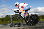 Elynor Backstedt of Great Britain in action during the Women Junior Individual Time Trial of the UCI World Championships 2019 running 13.7km from Harrogate to Harrogate, England. 23rd September 2019.<br /> Picture: Alex Whitehead/SWPix.com | Cyclefile<br /> <br /> All photos usage must carry mandatory copyright credit (© Cyclefile | Alex Whitehead/SWPix.com)
