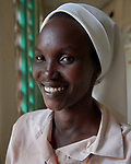 Sister Pollicarp Amiyo is a Comboni sister from Uganda who works as a nurse at the Mother of Mercy Hospital in Gidel, in the Nuba Mountains of Sudan.