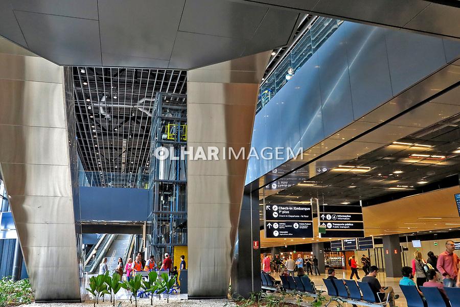 Floripa Airport. Aeroporto Internacional de Florianopolis Hercíliuo Luz. Florianopolis. Santa Catarina. 2019. Foto Marcia Minillo.
