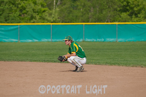 CHS senior second baseman Donnie Dobeck.