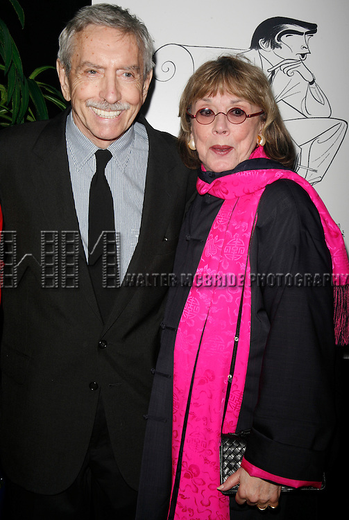 Edward Albee & Phyllis Newman.attending the New Dramatists 58th Annual Spring Luncheon to honor Edward Albee at the Mariott Marquee Hotel in New York City..May 17th, 2007.© Walter McBride /
