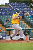 Siena Saints first baseman Joe Drpich (47) during a game against the Pittsburgh Panthers on February 24, 2017 at Historic Dodgertown in Vero Beach, Florida.  Pittsburgh defeated Siena 8-2.  (Mike Janes/Four Seam Images)