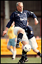 17th May 98      Copyright Pic : James Stewart   .FALKIRK MANAGER ALEX TOTTEN IN ACTION FOR A FALKIRK SELECT SIDE WHO BEAT DUKLA PUMPHERSTON IN A CHALLENGE MATCH IN AID OF THE BACK THE BAIRNS CAMPAIGN.........Payments to :-.James Stewart Photo Agency, Stewart House, Stewart Road, Falkirk. FK2 7AS      Vat Reg No. 607 6932 25.Office : 01324 630007        Mobile : 0421 416997.If you require further information then contact Jim Stewart on any of the numbers above.........