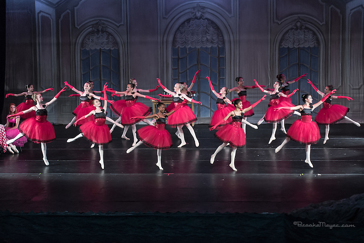 """Saturday Matinee Performance of """"A Mermaid's Dream"""", the 2015 Annual Recital by the Cary Ballet Conservatory."""