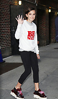 NEW YORK, NY August 10, 2017Millie Bobby Brown at The Late Show with Stephen Colbert at to talk about new season of Stranger Things in New York August 10 2017.Credit:RW/MediaPunch