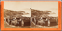 BNPS.co.uk (01202 558833)<br /> Pic: Bonhams/BNPS<br /> <br /> The Golden Gate, from Telegraph Hill, the famous Golden Gate Bridge was built 70 years later.<br /> <br /> A stunning collection of photos of San Francisco in the 1860s have been unearthed after 150 years.<br /> <br /> The fascinating images show the distinctive street scenes of the city 70 years before the iconic Golden Gate Bridge became its most celebrated landmark and 50 years before the infamous Alcatraz prison was built.<br /> <br /> Included in the collection of 247 images are photos of the Golden Gate, Alcatraz, Russian Hill, the Waterfront and Woodward's Gardens.<br /> <br /> The city which is universally known for its treacherously steep hills and spectacular scenery was captured in all its glory by American photographer Carleton E. Watkins.