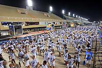 RIO DE JANEIRO - RJ - DIA 11 DE FEVEREIRO DE 2012.<br /> Na noite de s&aacute;bado (11) ensaio t&eacute;cnico da escola de samba Portela, na Marques de Sapuca&iacute;, situada no centro da cidade do Rio de Janeiro - RJ, no samb&oacute;dromo.<br /> FOTO: RONALDO BRAND&Atilde;O/NEWSFREE