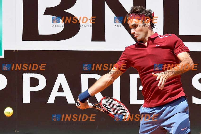 Roger Federer (SUI)<br /> Roma 12-05-2016  Foro Italico<br /> Internazionali BNL d'Italia, <br /> Tennis ATP<br /> Foto Antonietta Baldassarre / Insidefoto