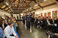 Arena Loire,  Trélazé,  France, 14 April, 2016, Semifinal FedCup, France-Netherlands, Draw,  Dutch team enters<br /> Photo: Henk Koster/Tennisimages