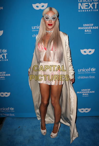 LOS ANGELES, CA - OCTOBER 27: Gigi Gorgeous at the Fourth Annual UNICEF Masquerade Ball Los Angeles at Clifton's Cafeteria in Los Angeles, California on October 27, 2016. <br /> CAP/MPI/FS<br /> &copy;FS/MPI/Capital Pictures