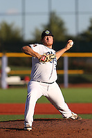 Cody Reed (37) of the Hillsboro Hops pitches during a game against the Salem-Keizer Volcanoes at Ron Tonkin Field on July 27, 2015 in Hillsboro, Oregon. Hillsboro defeated Salem-Keizer, 9-2. (Larry Goren/Four Seam Images)
