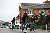 8th September 2017, Newmarket, England; OVO Energy Tour of Britain Cycling; Stage 6, Newmarket to Aldeburgh; Dylan GROENEWEGEN (NED) and Geraint THOMAS (GBR) race through Framlingham