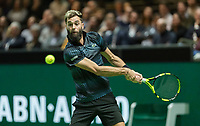 Rotterdam, The Netherlands, 11 Februari 2019, ABNAMRO World Tennis Tournament, Ahoy, Press Conference, first round singles: Benoit Paire (FRA),<br /> Photo: www.tennisimages.com/Henk Koster