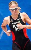 05 JUN 2010 - MADRID, ESP - Daniela Ryf - Womens ITU World Championship Series triathlon (PHOTO (C) NIGEL FARROW)