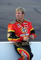 Nov. 7, 2008; Avondale, AZ, USA; NASCAR Sprint Cup Series driver Sterling Marlin during qualifying for the Checker Auto Parts 500 at Phoenix International Raceway. Mandatory Credit: Mark J. Rebilas-