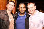 Niall Lynch, Dom Chuhan and Brian Dowd at the SOSAD BBQ Night in McPhails...(Photo credit should read Jenny Matthews www.newsfile.ie)....This Picture has been sent you under the conditions enclosed by:.Newsfile Ltd..The Studio,.Millmount Abbey,.Drogheda,.Co Meath..Ireland..Tel: +353(0)41-9871240.Fax: +353(0)41-9871260.GSM: +353(0)86-2500958.email: pictures@newsfile.ie.www.newsfile.ie.