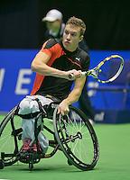 19-12-13,Netherlands, Rotterdam,  Topsportcentrum, Tennis Masters, Rody de Bie   (NED)<br /> Photo: Henk Koster