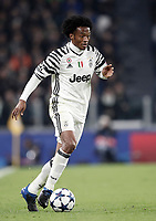 Juventus' Juan Cuadrado in action during the Champions League round of 16 soccer match against Porto at Turin's Juventus Stadium, 14 March 2017. Juventus won 1-0 (3-0 on aggregate) to reach the quarter finals.<br /> UPDATE IMAGES PRESS/Isabella Bonotto