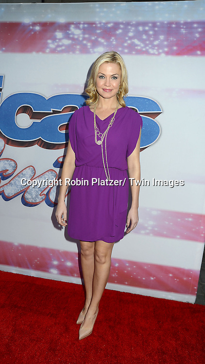 "Michelle Beadle attends the ""America's Got Talent""  New York Auditions.on April 8, 2013 at the Today Show in New York City. ."