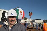 - launch of the new Scirè submarine for the Italian Navy at the Fincantieri shipyards  of Muggiano (La Spezia)....- varo del nuovo sommergibile Scirè per la marina italiana presso i cantieri navali  Fincantieri di Muggiano (La Spezia)