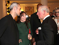 07 February 2019 - Prince Charles, Prince Of Wales meets Steve John Shepherd and Anna Wilson Jones during the Prince's Trust Invest In Futures Reception at The Savoy Hotel in London. Over the past 13 years, The Princes Trusts 'Invest in Futures' event has encouraged donors to help disadvantaged young people into work, training or enterprise. Photo Credit: ALPR/AdMedia