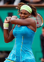 Serena Williams (USA) (1) against Anastasia Pavlyuchenkova (RUS) (28). Serena Williams beat Anastasia Pavlyuchenkova 6-1 1-6 6-2..Tennis - French Open - Day 7 - Say 30 May 2010 - Roland Garros - Paris - France..© FREY - AMN Images, 1st Floor, Barry House, 20-22 Worple Road, London. SW19 4DH - Tel: +44 (0) 208 947 0117 - contact@advantagemedianet.com - www.photoshelter.com/c/amnimages