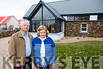 At the launch of the Sandy Feet Farm in Camp  on Thursday afternoon which was filmed by RTE's At Your Service with Francis Brennan. were: BB O'Shea and John O'Shea.