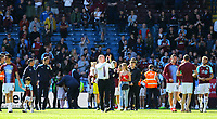 Burnley players and staff head out on a lap of the pitch after the match<br /> <br /> Photographer Alex Dodd/CameraSport<br /> <br /> The Premier League - Burnley v Arsenal - Sunday 12th May 2019 - Turf Moor - Burnley<br /> <br /> World Copyright &copy; 2019 CameraSport. All rights reserved. 43 Linden Ave. Countesthorpe. Leicester. England. LE8 5PG - Tel: +44 (0) 116 277 4147 - admin@camerasport.com - www.camerasport.com