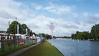 Henley on Thames. United Kingdom.  Sign for the Redgrave Bar On Henley Reach,     Thursday,  30/06/2016,      2016 Henley Royal Regatta.   [Mandatory Credit Peter Spurrier/ Intersport Images]