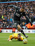 Jamie of Leicester City goes round Tom Heaton of Aston Villa before scoring his first goal during the Premier League match at Villa Park, Birmingham. Picture date: 8th December 2019. Picture credit should read: Darren Staples/Sportimage