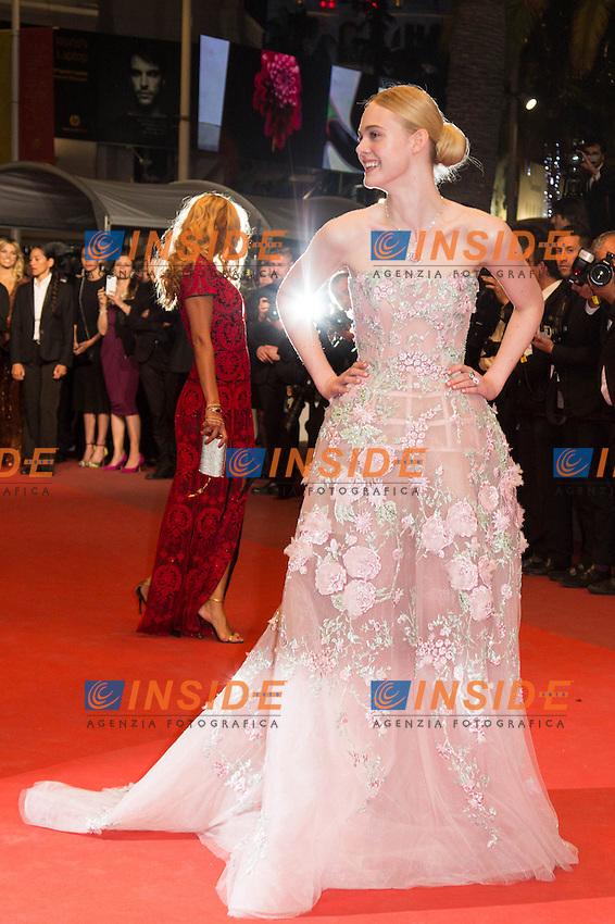 Elle Fanning <br /> Cannes 20-05-2016 <br /> Festival del Cinema di Cannes 2016<br /> Foto Panoramic / Insidefoto