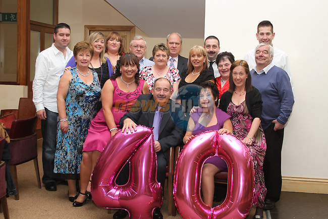 Rosemary and Tommy Seery's 40th Wedding Anniversary in The Thatch...Picture Jenny Matthews/Newsfile.ie