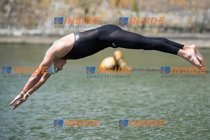 WEERTMAN Ferry NED<br /> Hoorn, Netherlands <br /> LEN 2016 European Open Water Swimming Championships <br /> Open Water Swimming<br /> Men's 5km<br /> Day 02 12-07-2016<br /> Photo Giorgio Perottino/Deepbluemedia/Insidefoto