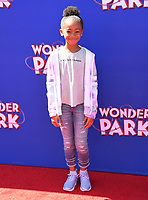 "10 March 2019 - Westwood, California - Faithe Herman. ""Wonder Parker"" Los Angeles Premiere held at Regency Village Theater. Photo Credit: Birdie Thompson/AdMedia"