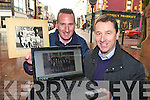 Enda Walshe and Paddy Osborne who have launched a new website Killarney Down Memory Lane which has hundreds of old pictures of Killarney and the townspeople